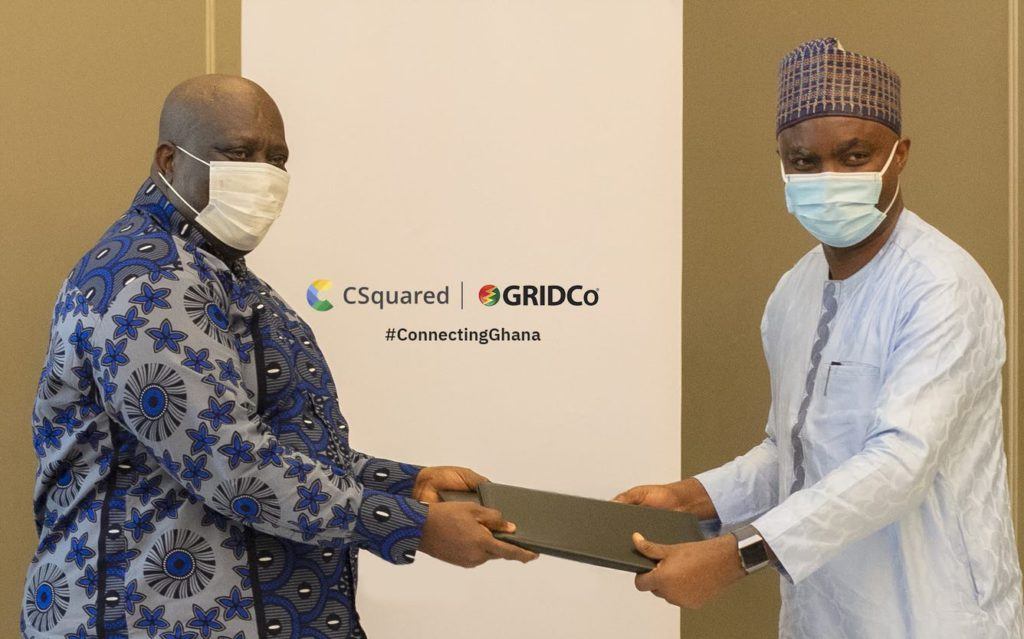 GRIDCo partners Csquared